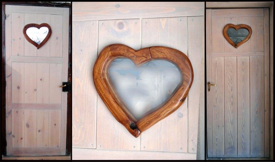 Restauració de porta i obertura de finestra-cor d'olivera