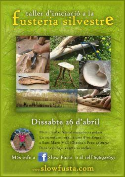 taller de fusteria silvestre 26 abril