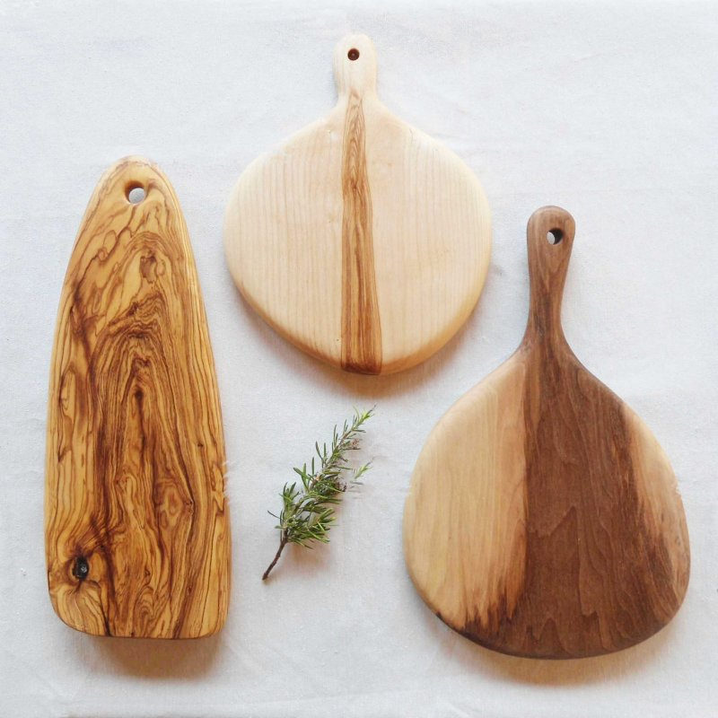 taules per tallar i degustació
